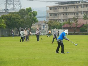 国分支部グラウンドゴルフ大会開催♪