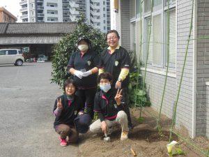 国分支部 緑のカーテンエコプロジェクト