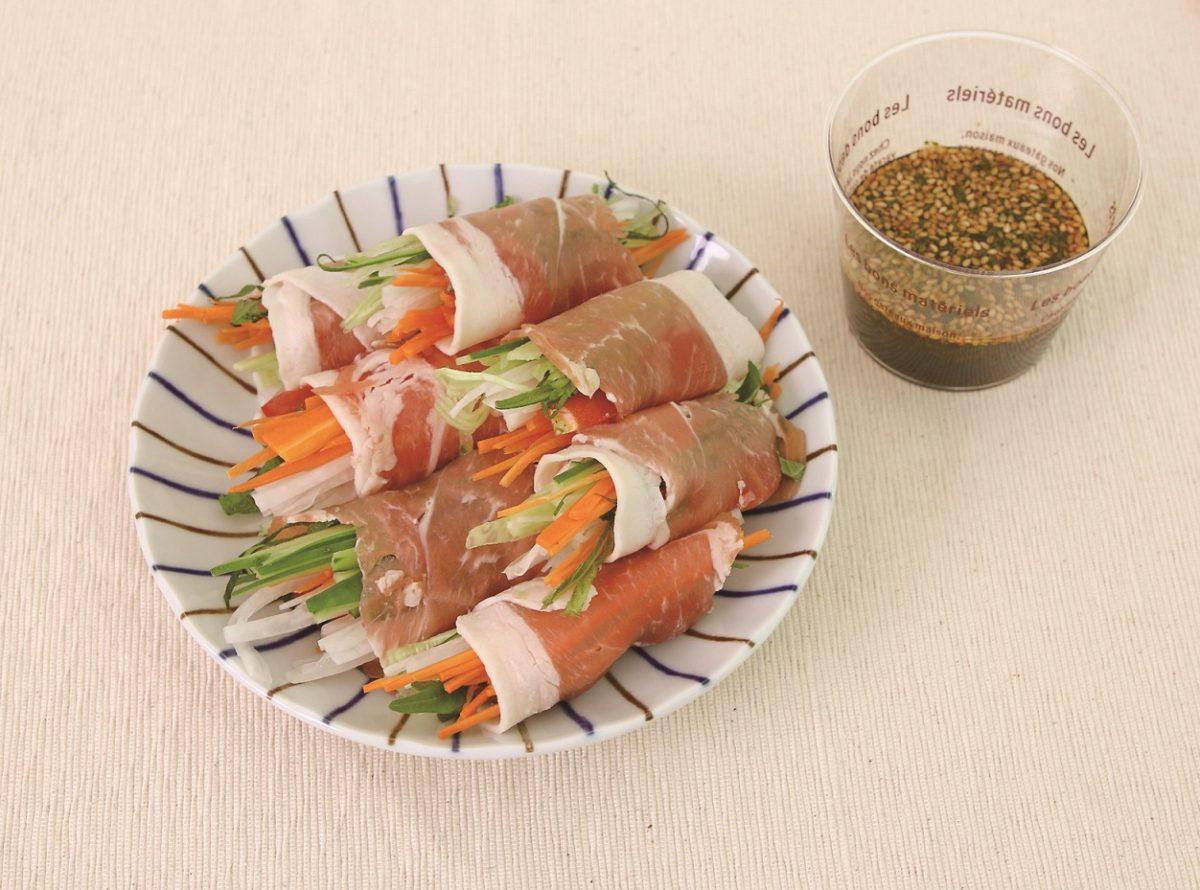 生ハム巻きサラダ(あいらいくレシピ)