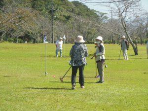 JAあいら女性部横川支部 グラウンドゴルフ大会