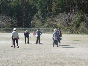 女性部 栗野支部グラウンドゴルフ大会